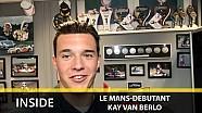 Kay van Berlo wint bij zijn debuut op Le Mans