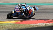 L'équipe Marc VDS en essais en Aragón