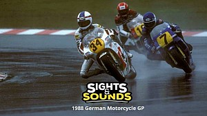 Sights & Sounds: 1988 German Motorcycle GP