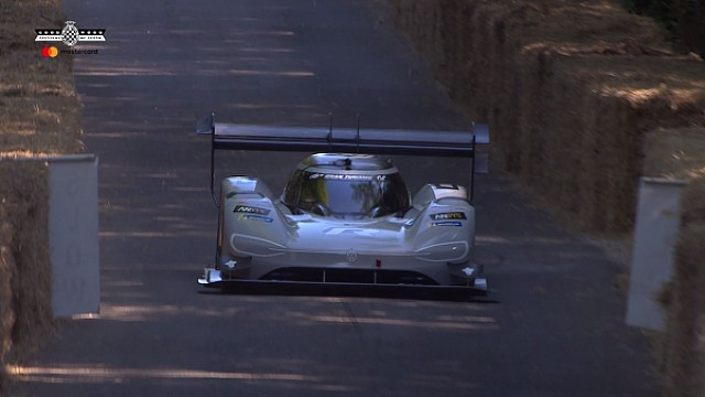 Volkswagen I.D R Pikes Peak siegt in Goodwood